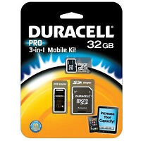 Duracell Pro 3-in-1 32GB Mobile Kit - New