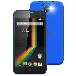 """POLAROID A4 4"""" ANDROID UNLOCKED GSM SMARTPHONE-BLUE"""
