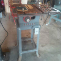 TABLE SAWS PARTS AND ACCESSORY -WE BUY ALL SAWS FOR PARTS