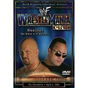 WWF 2001 DVD