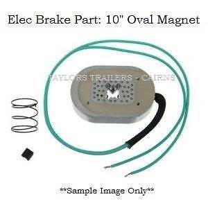 """NEW 10"""" Electric Brake Oval Magnet (with Spring & Clip) Cairns Cairns City Preview"""