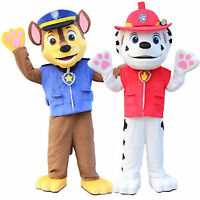 Paw patrol chase and Marshall mascot for rent