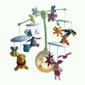 Winnie The Pooh Musical Light Up Mobile