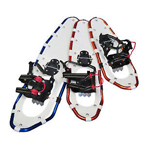 Backwoods Pro snowshoes size 25 with case on sale