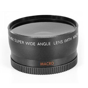 New 58mm Wide Angle Macro & Fisheye Lens for Canon 350D 400D 450D 500d 1000D