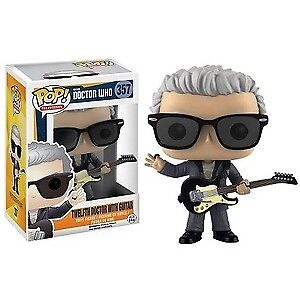 MIB Funko Pop Vinyl Doctor Who Twelfth Doctor with Guitar
