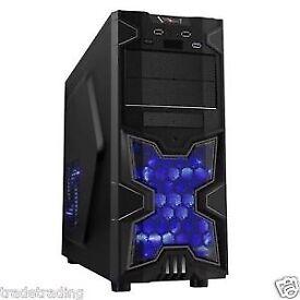 FAST DESKTOP GAMING COMPUTER PC INTEL i5 3.20GHz 8GB DDR3 NVIDIA GT710 1TB