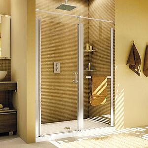 Liquidation démo :Porte douche en alcove 41 à 43 Fleurco Sevilla