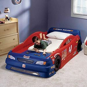 Step 2 convertible racecar bed. Peterborough Peterborough Area image 1