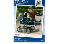 Silver Cross Ranger dolls pram