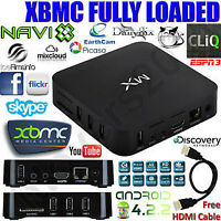 MX Smart TV Box BRAND NEW- No more need for cable or satellite
