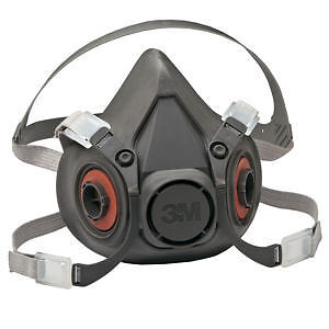 3M 6300 Half Face Mask Respirator Large