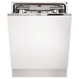 AEG fully integrated dishwasher