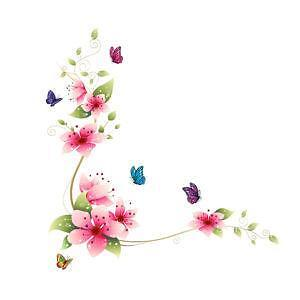 Wall stickers ebay for Cadre floral mural