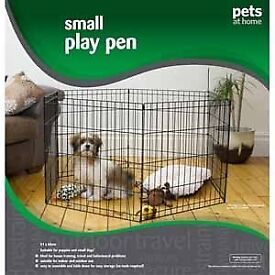 Dog Play Pen for Small Dog - Hardly Used