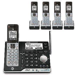 AT&T CLP99553 DECT 6.0 EXP.CORDLESS 5HS PHN W/AN