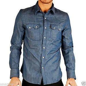 8e1a014043 Levi s Western Denim Shirt