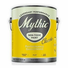 Mythic Interior Acylic Latex Flat paint - colour 'Paraffin' OW-6-2