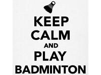 Badminton club seeking new players