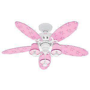 Disney princess ceiling fan ebay girls ceiling fan aloadofball Images