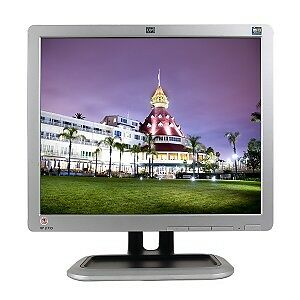 HP-1710 REARLY USED LCD  MONITOR, LOOK'S LIKE NEW. SIZE 17 ""