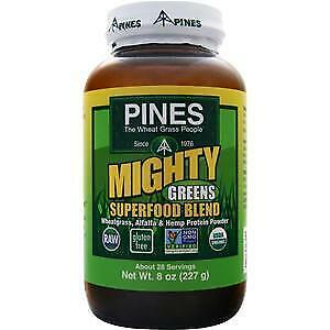 Pines Mighty Greens Superfood Blend  8 oz