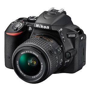 Brand New Nikon D5500 with or without the 18-140mm VR Lens