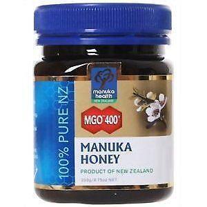 Manuka honey results