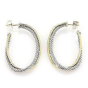 David Yurman Hoop Earrings