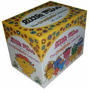 Little Miss Library Collection 36 Books Box Set ( Mr Men )