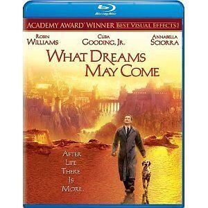 WHAT DREAMS MAY COME - ROBIN WILLIAMS  HI-DEF BLU RAY