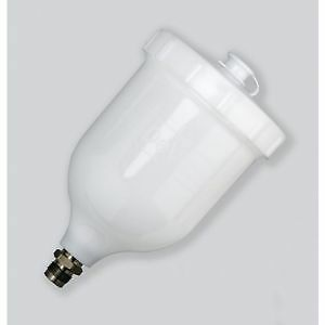 SPRAY GUN POT CUP DEVILBISS REPLACEMENT 600ML GTI , PRO , LITE FLG PRI