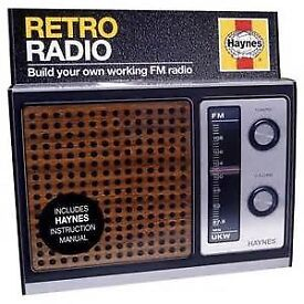 RETRO RADIO KIT NEW NEVER BEEN USED