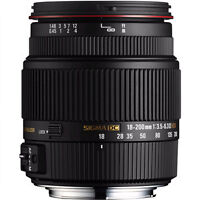 SIGMA 18-200MM F3.5-6.3 II DC FOR CANNON (IMAGE STABILIZED)
