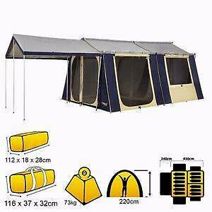 OzTrail 12x15 Cabin Family Tent Aberglasslyn Maitland Area Preview