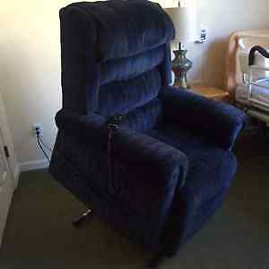 Pride mobility lift chair XL size - great for assisting seniors!