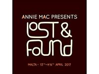 ANNIE MAC LOST AND FOUND TICKETS x2.....NEED TO BE GONE AS SOON AS POSSIBLE
