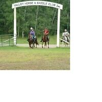 Valley Horse & Saddle Club Week long clinic **$120 per rider**