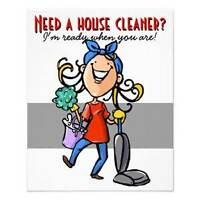 Seeking clients for house cleaning