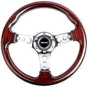 wood steering wheel ebay