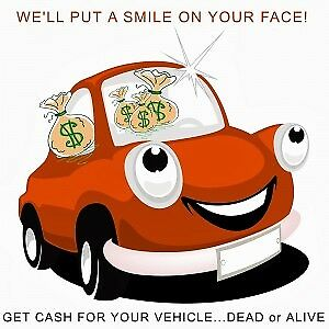 WANTED: * Unwanted Vehicles We Pay Cash*!
