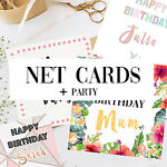Net Cards + Party