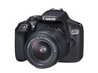 **Canon EOS 1300D DSLR Camera with Lens**