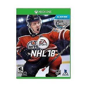 NHL 18 $50.00