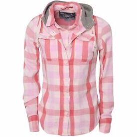 Superdry flannel shirt large