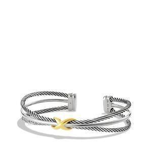 David Yurman Silver Gold Bracelet