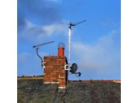 DIGITAL AERIALS FULLY FITTED FROM £38 - TV WALLMOUNTING - SKY WORK - CCTV