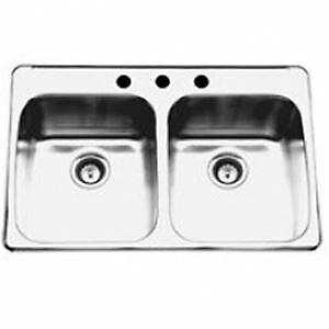 Stainless steel sinks located in Peace River