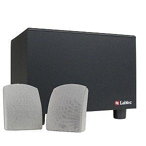 Labtec Sub-Woofer with 2 Satellite Speakers Brand NEW