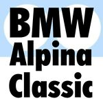 BMW Alpina vintage plates & decals
